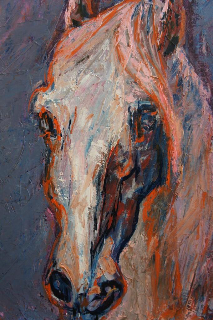 Huile sur toile, 38x46 cm